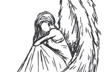 melek çizimi