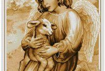 Anioł z owieczką