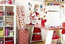 Crafts - Craft Room and Organization