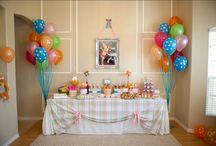 birthday decorations / by Crystal Fee Viscardis
