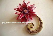 Квиллинг, цветы из бумаги...~