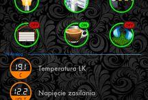 Tiny Lan Controller Smart Home / My app design