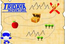 Tridaya Adventure / Tema Bimbel Tridaya untuk 3 bulan ini : ADVENTURE :)