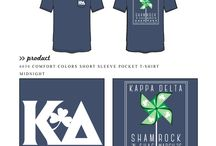Philanthropy / Greek sorority and fraternity custom shirt designs featuring philanthropy themes. For more information on screen printing or to get a proof for your next shirt order, visit www.jcgapparel.com
