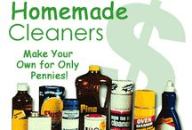 Make your own cleaning solutions etc