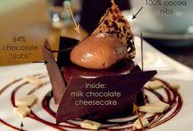 Plate a dessert.
