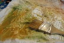 Dye: batik ' resist