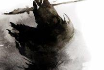 ink illustrations / art