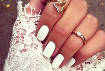 White Nails / by FASHION ID