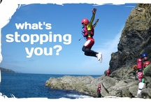Coasteering and More! / Coasteering was invented in Pembrokeshire, but there's also River Canoeing, Sea Kayaking, Surfing, Rock Climbing, Whitewater rafting, Paragliding, Bushcraft, Cycling, Horseriding and More....What will you try?