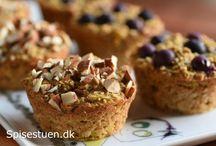 Muffins, bradepandekager og lign.