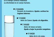 como tomar agua
