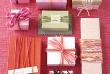 Gift wrapping / by Megan Dame