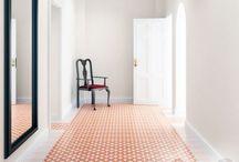 Encaustic cement tiles / We are loving encaustic tiles right now!
