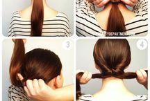 Hair / Česání