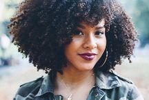 Curl Hair / Pelo afro