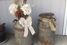 vintage/ rustic decor ideas