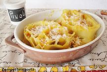 Ricette con la zucca - Recipes with pumpkin