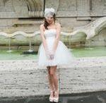 Kurze Brautkleider / Freche, kurze Brautkleider
