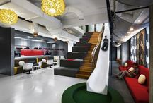 Interior Design: Office Spaces / Office Space design, layout, floor plans, decor / by James Christian