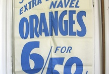 1950's signage and logos