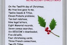 Holidays Genealogy Style / The love of genealogy embraces every holiday! / by Midwest Genealogy Center