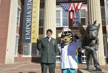 Military Friendly University / Emporia State University has been designated a 2016 Military Friendly® School. Scroll through to see why Emporia State is the perfect fit for veterans! / by Emporia State University