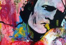 Art / Kunst van de leden van de galerie.