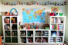 Homeschooling Room / Ideas for organising your homeschooling room.