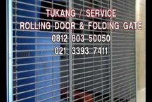 081280350050  JUAL SERVICE ROLLING DOOR FOLDING GATE TERMURAH JAKARTA