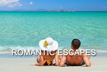 - Romantic Escapes - / Head off to one of these dreamy locations with your other half and fall in love all over again...