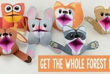 Children's paper crafts