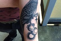 Crows & Ravens: Tatoo Inspiration