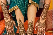 Mehndi / Henna drawing