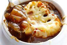 soupe ( à l'oignon )