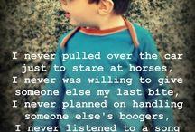 Life's little sayings