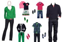 What to Wear...Family Photo Session / For those who are tired of the standard khaki and white family photograph, there are so many ways to look great as a family!  Today, a lot of photographers will have a wardrobe consultation.  That is what I do at Candice Brown Photography.  #whattowear