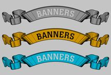 banners / by Alan Mary Smith
