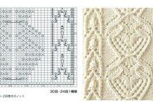 maglieria.... punti (knitting.... patterns)