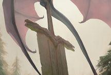 Fantasy Giants Locations / Inspirace pro Gladiatory jake by mohli byt lokace a pripadne jak by meli vypadat