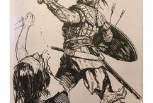 savaşçı çizimleri