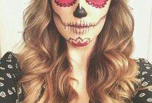 Make up sugar skull