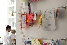 Hanging Kid's Artwork