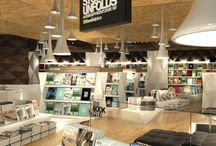 ** Retail Inspiration ~ Bookshops & Libraries