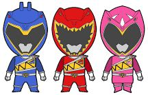 Power rangers dino bday party