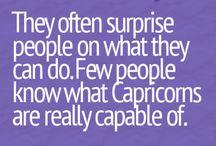 Capricorn..that's me !