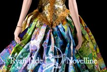 """Trash Fashion aka """"Trashion"""" / It's all about upcycling that trash and making it into clothing and accessories."""