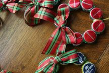 Christmas Accessories from Upcycled Recycled Reused materials