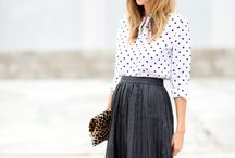 How to style: polka dots / by Jessica