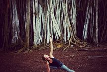 Yoga photoshoot / Inspiration for website photos